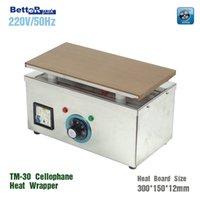 Wholesale TM Manual blister sealing machine Cigarettes cosmetics poker box blister film packaging machine Cellophane Wrapping Machine