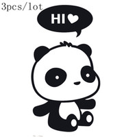bathroom choice - Wall sticker DIY poster Panda Stickers wall stickers funny wall stickers for kids rooms home decor wall decals choice