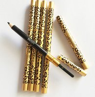 Wholesale Hot sale Brand Leopard grain with diamond Makeup Professional Makeup Eyebrow Pencil Brush