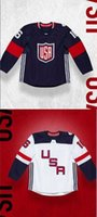 Wholesale 2016 Team USA World Cup of Hockey Jerseys Men Women Youth Custom Any Name And Number Ice Hockey Jersey Good Quality