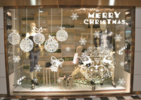 Wholesale Christmas ornaments solid color Snowflake without plastic stickers Christmas lights ball festivals shopping window decoration essential