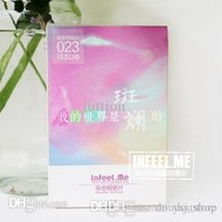 Wholesale Infeel Me postcard my world is colorful boxed