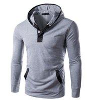 Wholesale Brands Men Fashion Clothing New Men Hoodies Casual Men Sweatshirts Slim Fit Men Outwear High Quality Men Tops Pullover Men Clothes Top