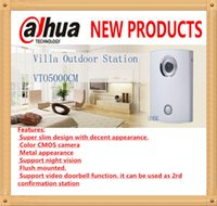 Wholesale DAHUA Video Intercom Doorbell Analogue Products Villa Outdoor Station Original English Version without Logo VTO5000CM
