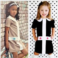 baby drees - 2016 Cute Fashion Baby Girls Dress Kids Beautiful Girl Printed Clothes Children s Drees