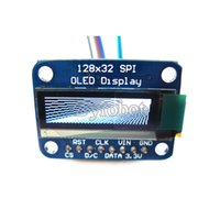 Wholesale quot SSD1306 X32 SPI OLED Module White Graphic Display Monochrome Price US