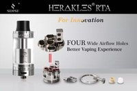 bear senses - 2016 Newest Sense Herakles RTA Atomizer Authentic Herakles RTA with Wide Airflow Control and Wide Bore Tips vs Herakles Plus V2 Tank