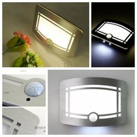 Wholesale LED Wall Light LED Energy Saving Wall Lamps Stickers Mini Sensor Luminous Night Lights Pub Nightclub Hotel Decorations L322