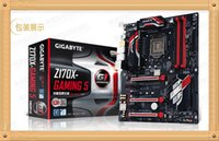 Wholesale Gigabyte Z170X Gaming Z170 Desktop PC games motherboard send memory