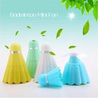 Wholesale Hot Portable Badminton USB Rechargeable Mini Mute Desktop Fan Office Fans