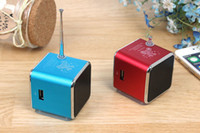 best audio amplifier - Mini Portable Speaker TD V26 Micro SD TF Card USB Disk MP3 Music Player Amplifier FM Radio digital speaker best tatar