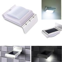 Wholesale LED Solar Light Outdoor Light Waterproof Energy Saving Wall Light Motion Sensor Solar Lights for Garden Decoration