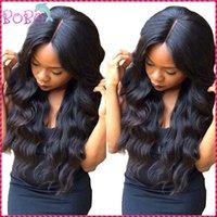 Wholesale Brazilian Virgin Hair Wigs Full Lace Human Hair Wigs For Black Women Body Wave Brazilian Full Lace Lace Front Virgin Hair Wigs