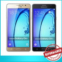 Wholesale 5x Samsung Galaxy On7 G6000 UNLOCKED GSM G G LTE Quad Core inch Screen Android RAM GB ROM GB Camera MP Built in Dual SIM DHL