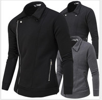 bead designs patterns - 2016 Spring new men s winter coat solid color casual fashion design and more oblique zipper sweater cultivating wild open lining men jacket
