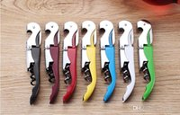 best waiters corkscrew - Wine Bottle Opener Corkscrew Knife Pulltap Double Hinged Waiters Corkscre Best Wine Opener Bartender Bottle Opener Foil Cutter