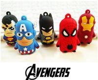 batman keyring - 5 Design D Cartoon The Avengers Super Heroes Batman Action Figure Keychain Silicone Keyring Cartoon Key Ring cm K7660