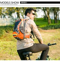Wholesale 15L Ultralight Waterproof Bicycle Bike Shoulder Backpack Sport Outdoor Cycling Riding Travel Mountaineering Hydration Water Bag H13228