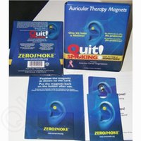 Wholesale LJJG165 AAA Quality Zero Smoke Patch Fashion Auricular Magnets Therapy Quit Smoking Auricular Magnet Auricular Therapy