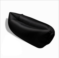 bean couch - 0 kg Inflatable Sofa Air Sleeping Bag Beach Lounge Chair Bean Bag Air Hammock Couch Beach Hammock air bed