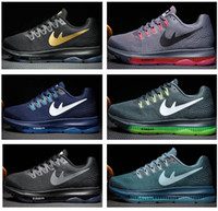Wholesale 2016 Zoom Air all out low zoom men women running shoes Hot sale Original quality Sneakers fashion sport shoes us7