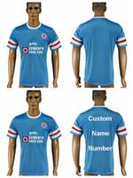 Wholesale 2016 Soccer Cruz Azul Jersey Custom Blue GIMENEZ FABIAN Football Shirt PAVONE ROJAS PEREA ZURDO FORMICA
