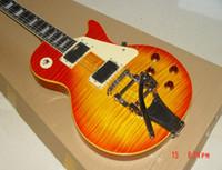 Meilleure guitare de la Chine Custom 1959 50ème Anniversaire Reissue Electric Guitar OEM Instruments de musique en stock