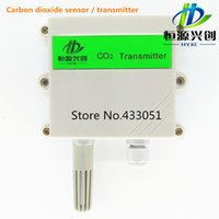 Wholesale 0 ppmCarbon dioxide gas sensor power supply V CO2 Transmitter output signals MA V V RS485free test software