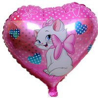 Wholesale The new mary cat balloons helium foil balloon metallic balons for decoracao festa infantil wedding balloon baby shower