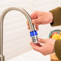 Wholesale 1Pcs Activated Carbon Tap Water Filter Water Purifier Use For Kitchen Faucet Tap Water Filter Purifier Blue