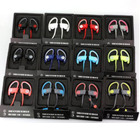 Wholesale Used Beats powerbeats wireless Active collection headphone Bluetooth Headset Sport earphone with retail box beats by dre DHL FREE