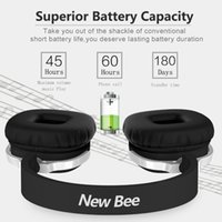 Others android bee - New Bee Bluetooth Headphones Bluetooth Headset Noice Canceling With Microphone for ios Android Smartphone Table PC