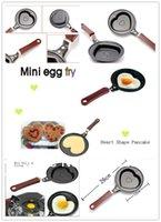 bbq egg grills - Frying Pan Kitchen Tool Heart Shape Egg Fry Pancake Chocolate Pot Nonstick Cast Iron BBQ Outdoor Cooking
