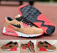 athletic shoes for men - 2016 Max Anniversary Pack Cork Bronze Black Infrared Running Shoes For Men Women Brand Airmax Athletic Sneakers Trainers