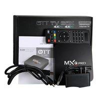 android smart tv box firmware - MXQ Pro Android TV Box K Amlogic S905 Firmware Updated Online mxq pro k Quad core Smart Mini PC support Wi Fi Kodi