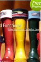 Wholesale New Womens Hunter Black Short Fleece Cotton Polyester Welly Socks
