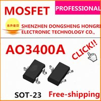 Wholesale AO3400A N channel V A mR Original AOS high quality data inside we can offer free samples