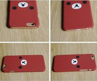 Wholesale Cute Korean iphone6s Apple p phone set frosted shell super slim cartoon plus lovely silicone sets of lovers tide female Apple custom