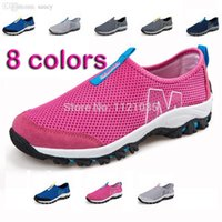 Cheap Wholesale-Nice Brand New Women Walking Shoes Trainers Shoes Lady Running Shoes Mujer Zapatillas Deportivas Male Female Sport Walking Shoes