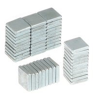 Wholesale 50psc x x mm Rare Earth Fridge Magnets N35 Craft Model Strong Magnet Square magnet Hard to apart away