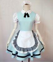 anime maid uniform - New Arrival Custom Made Sissy Maid Dress Uniform Cosplay Costume For Halloween Party