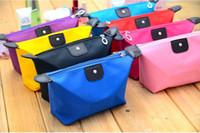 El bolso cosmético del embrague de la bolsa del bolso de los bolsos del maquillaje de la señora Travel Maquillaje de las nuevas mujeres dulces del caramelo de 1pcs empaqueta el monedero cosmético DHL