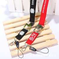 Wholesale 2 CM polyester lanyard with bottle opener bottle opener strap with own logo printing