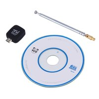 Wholesale Mini Micro USB DVB T Digital Mobile HDTV TV Tuner Receiver Satellite TV Receiver Antenna For Android