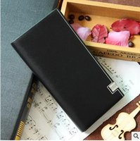 authentic wholesale purses - Authentic Korean men s fashion trend of high end purses spot student wallet metal edge sources of foreign trade
