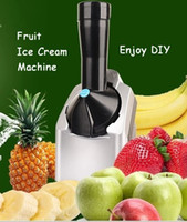 Wholesale DIY Fruit Ice Cream Machine Ice Cream Maker Automatic Household Slush Maker Smoothie Maker