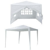 aluminum gazebo - Canopy Heavy duty x10 Outdoor Party Nylon Patio Tent Gazebo Pavilion Cater Event Straight Bracing Type