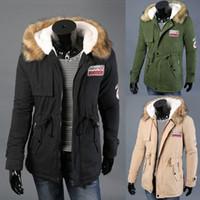 Wholesale Fall NEW hot Winter Men s Clothes napapijri Jackets Plus Size Cotton Mens Jacket Man Coat To Increase Cotton Men Warm Coat For