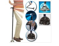 Wholesale Carbon Stick Nordic Walking Ultra light Handle Folding Cane with Built in Light Walking Magic Fold Trusty