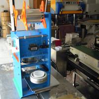 Wholesale BZD95 Semi automatic milk tea sealing machine mm cup sealing machine Yogurt cup sealing machine Jelly sealing machine